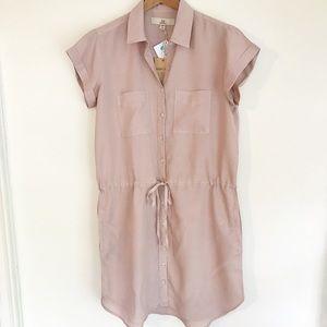 NWT Thread & Supply SL Tencel Shirt Dress